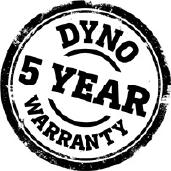 Dyno % year Warranty